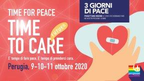 Catena umana da Perugia ad Assisi, domenica 11 ottobre 2020