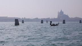 View of the Giudecca island from Saint Mark Square, Venice