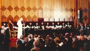 Giovanni Paolo II in visita all'Università di Padova, 12 settembre 1982