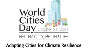 Logo of the World Cities Day 2021