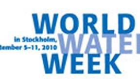 Logo della Settimana mondiale dell'acqua