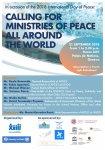 Ministero della Pace, Calling for ministries of peace all around the world, Associazione Papa Giovani XXIII