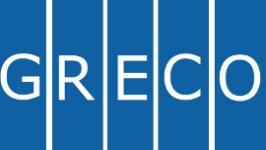 Logo di GRECO, Gruppo di Stati contro la corruzione del Consiglio d'Europa