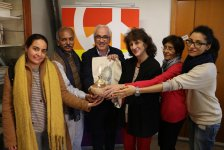 Incontro tra il Comitato promotore Indiano della marcia Jai Jagat e il Comitato promotore della Marcia PerugiAssisi