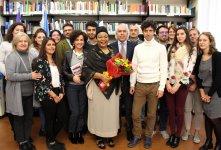 "Nobel Peace Prize Leymah Gbowee at the University of Padova Human Rights Centre ""Antonio Papisca"""