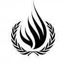 Logo of the Office of the UN High Commissioner of Human Rights (OHCHR)