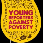"Logo del concorso ""Young reporters against poverty"""