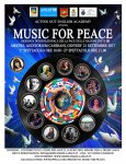 Locandina, Music for peace, 2017