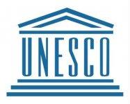 Logo UNESCO, Organizzazione delle Nazioni Unite per l'Educazione, la Scienza e la Cultura