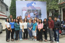 """MA in Human Rights and Multi-level Governance, Winter School """"Microfinance in Action"""", Nepal, 2016"""
